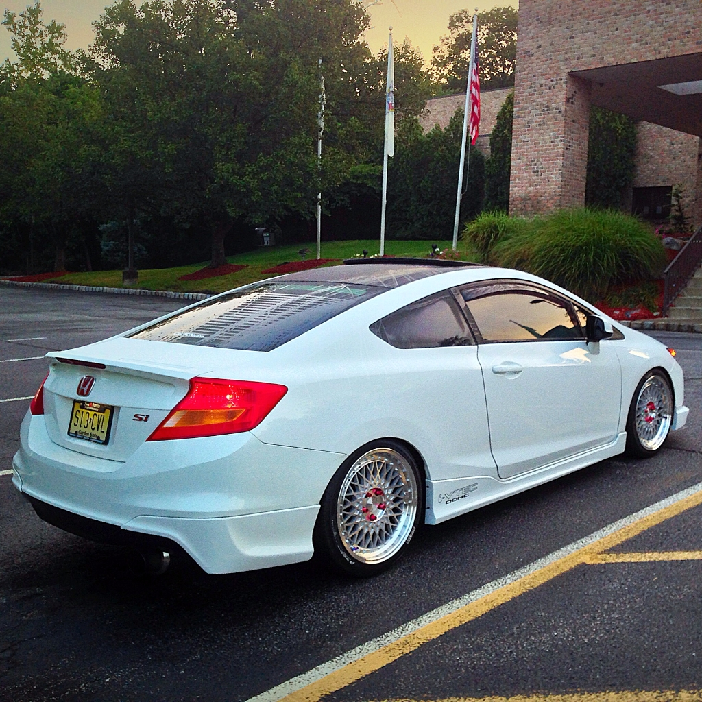 honda civic si coupe m220 machine silver wheels 1. Black Bedroom Furniture Sets. Home Design Ideas