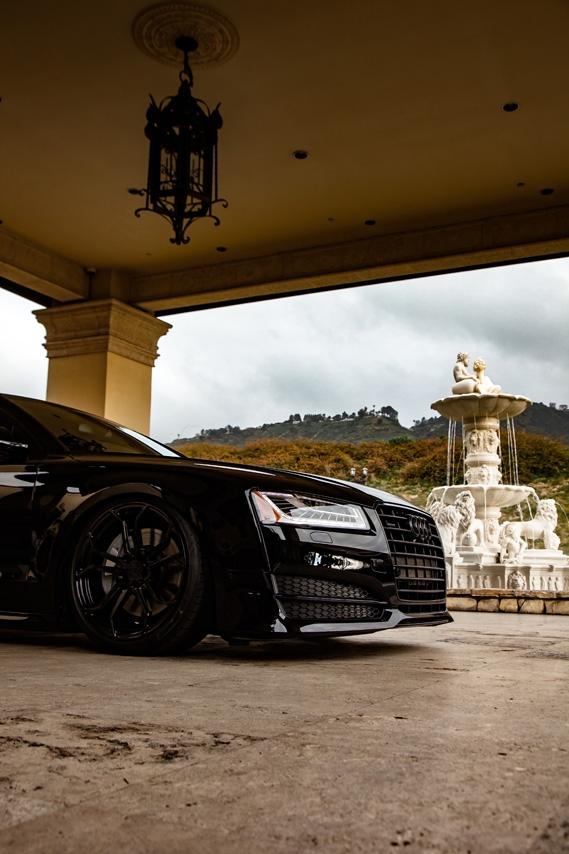 Audi A8 Agluxury Wheels Agl32 Gloss Black 22