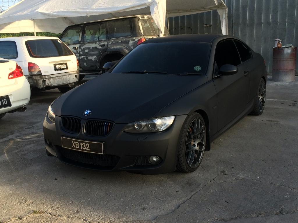 Matte Black Bmw >> Bmw E92 Matte Black M310 1