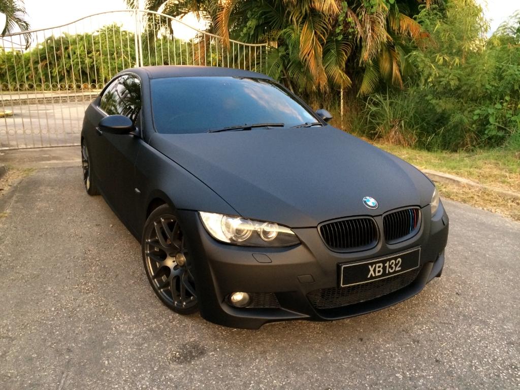 Matte Black BMW >> Bmw E92 Matte Black M310 2