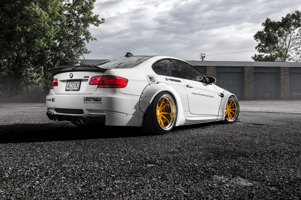 Bmw E92 M3 Liberty Walk Agluxury Wheels Agl19