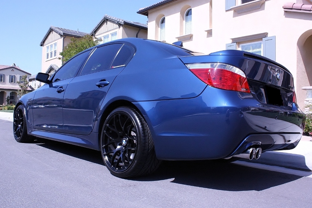 Bmw E60 M5 Blue Matte Black M310