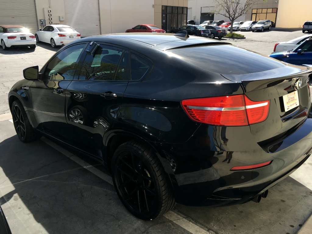 Bmw X6 X6m M510 Matte Black Wheels 2