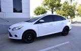 Ford Focus White Matte Black M310