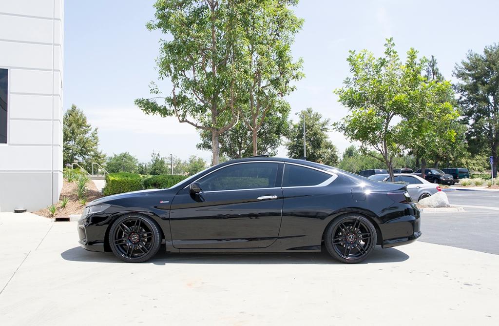 Honda Accord Coupe M368 Matte Black 2