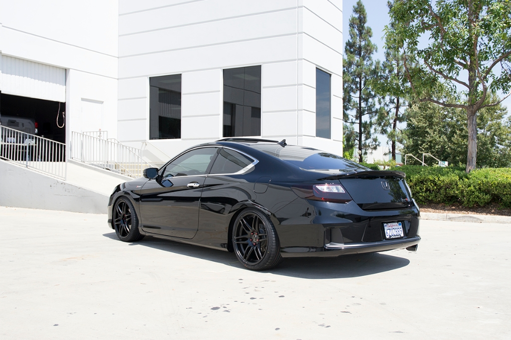 Honda Accord Coupe M368 Matte Black 3