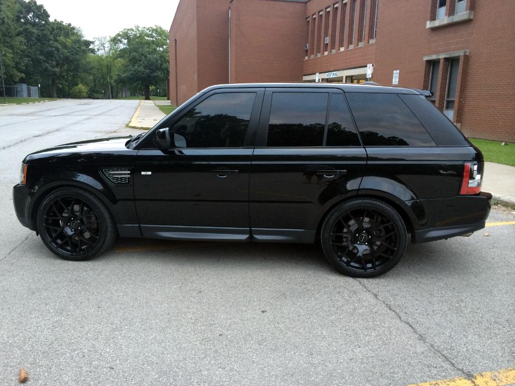 M310 Wheels Matte Black Range Rover Sport 1
