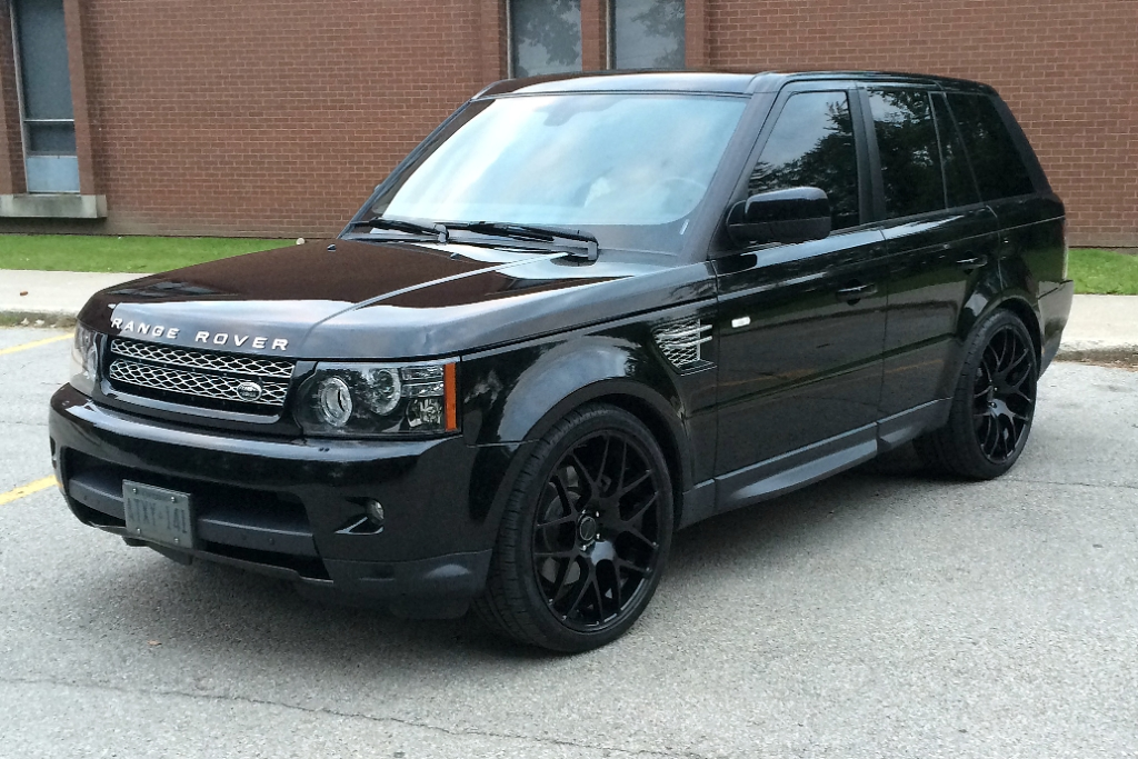 Matte Range Rover >> M310 Wheels Matte Black Range Rover Sport 5