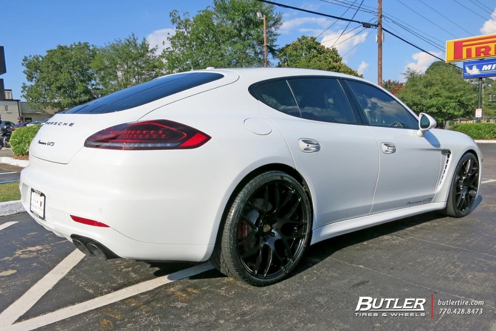Porsche Panamera Gts Ruger Mesh 22in Matte Black