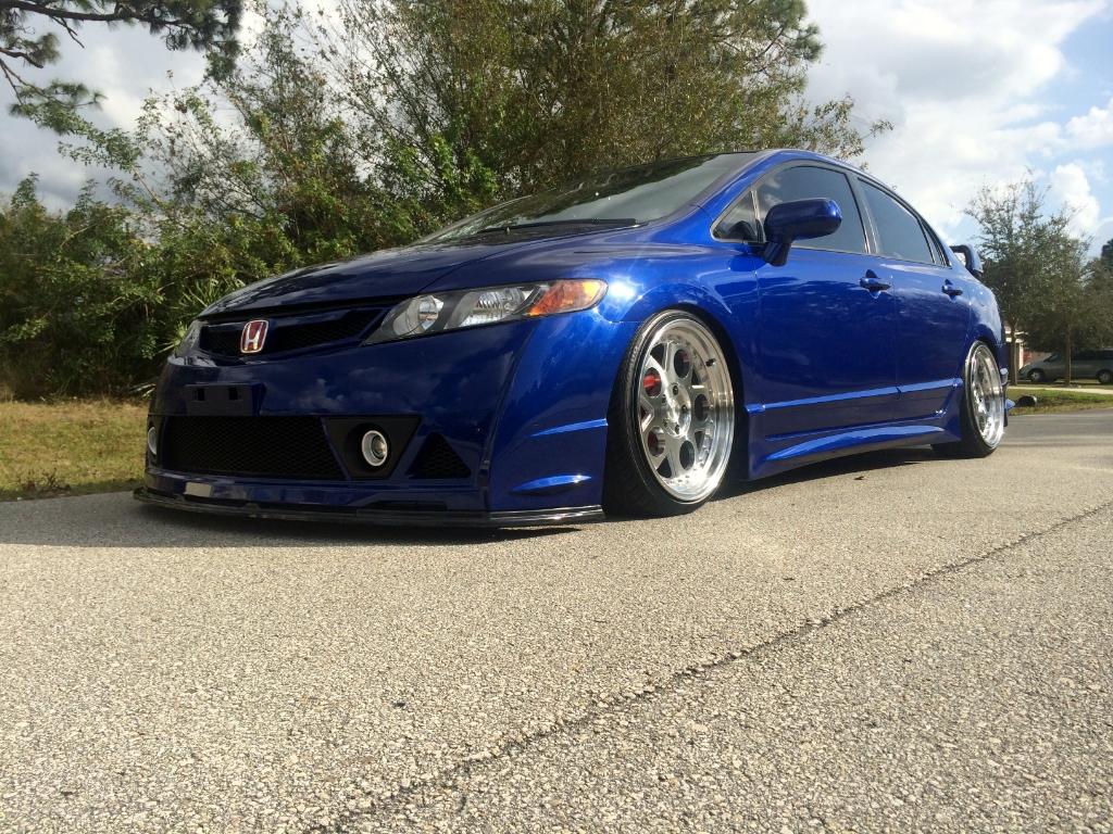 Honda Civic Blue >> 3