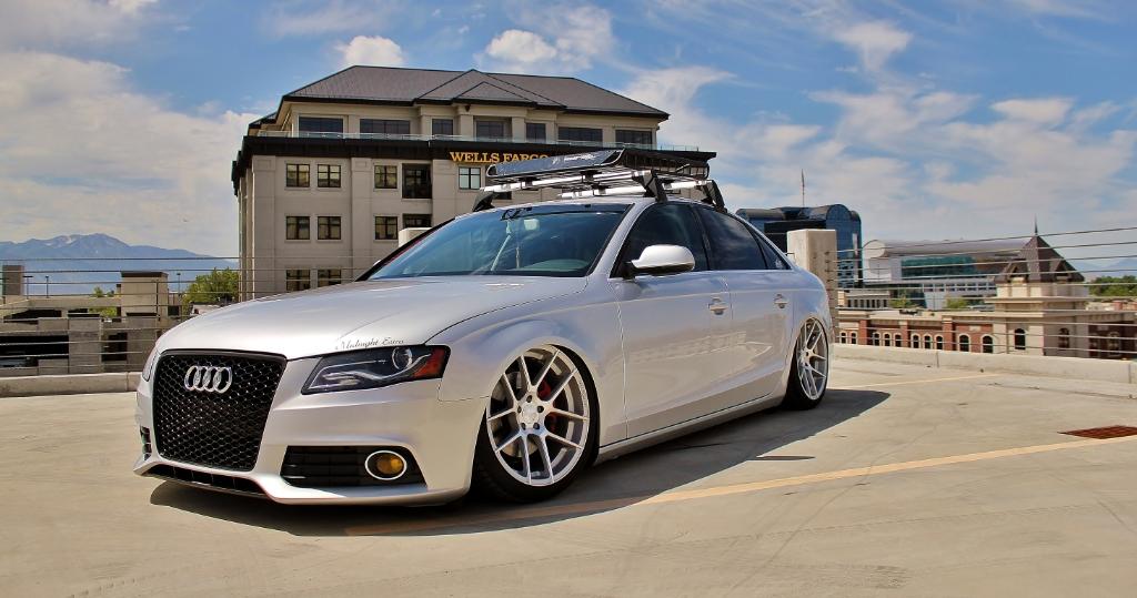 Audi B8 A4 M510 Satin Silver 3