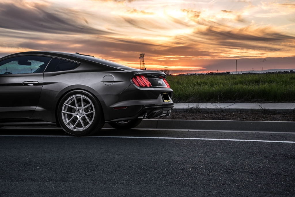 Ford Mustang S550 M510 Concave Staggered Wheels 4