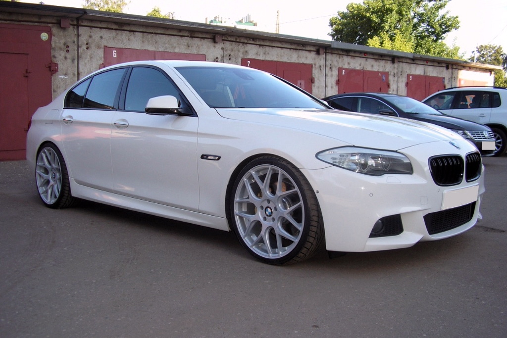 Bmw F10 550i Mesh Concave Staggered Wheels 1