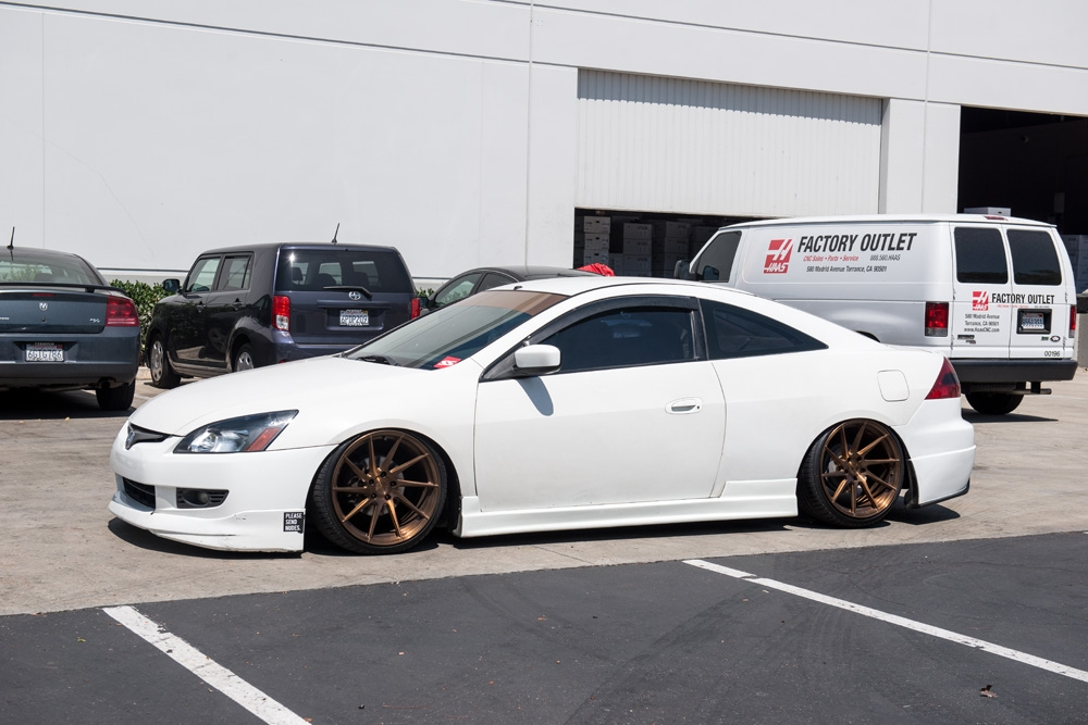 White Honda Accord >> DSC8520