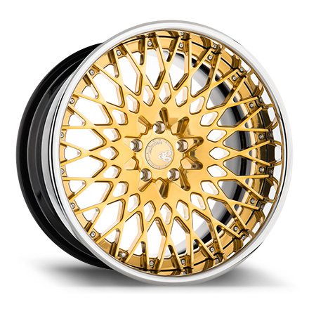 "20"" Gold Bullion with Chrome Lip [SPEC1]"