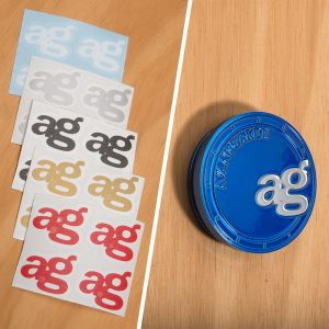 Avant Garde Vinyl Logo for Center Cap (4-Pack)