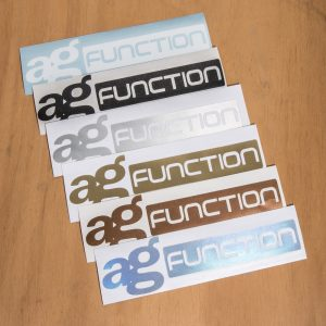 Avant Garde Function Logo Vinyl Decal