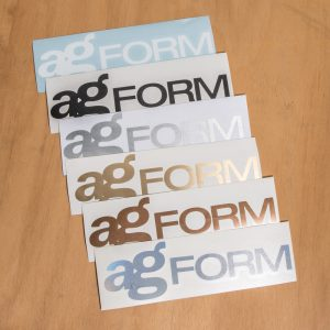 Avant Garde Form Logo Vinyl Decal