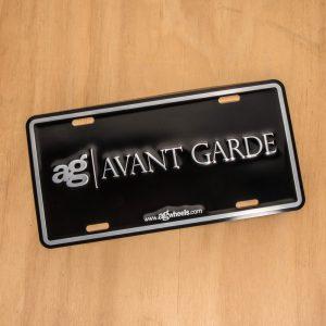 Avant Garde Aluminum License Plate Insert