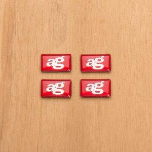 Avant Garde Mini AG Emblem (4-Pack)