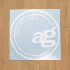 Avant Garde 10-Inch Logo Decal