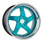 F133 - Brushed Turquoise