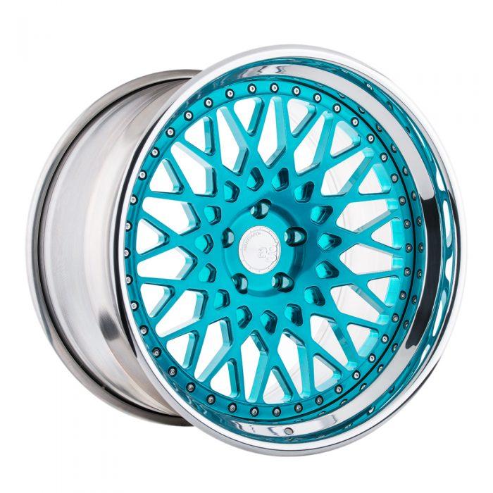 F541 - Brushed Turquoise