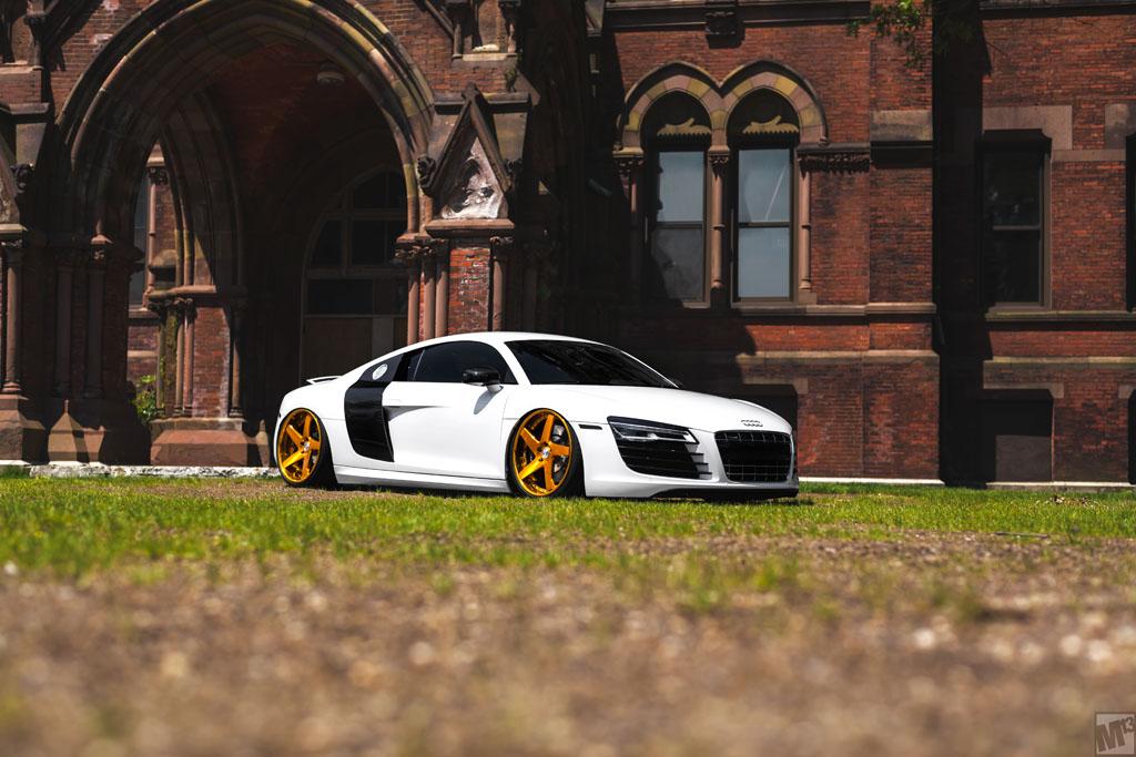 Audi R F Avant Garde Wheels Avant Garde Wheels - White audi r8
