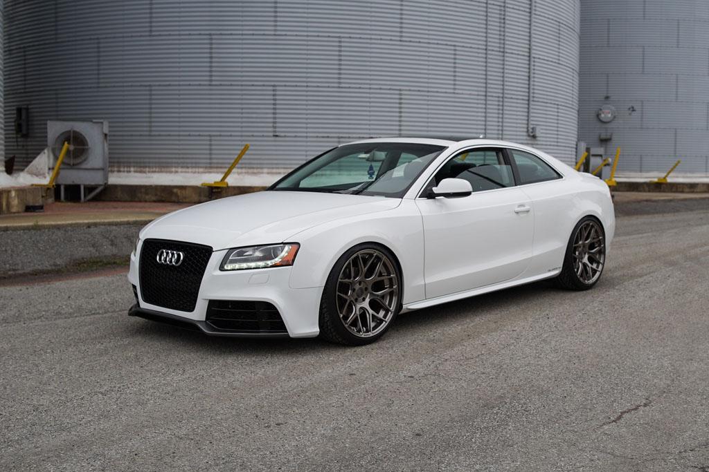Audi A M Avant Garde Wheels Avant Garde Wheels - White audi a5