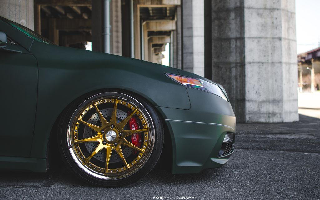 Acura TL F SPEC Avant Garde Wheels Avant Garde Wheels - Acura tl gold rims
