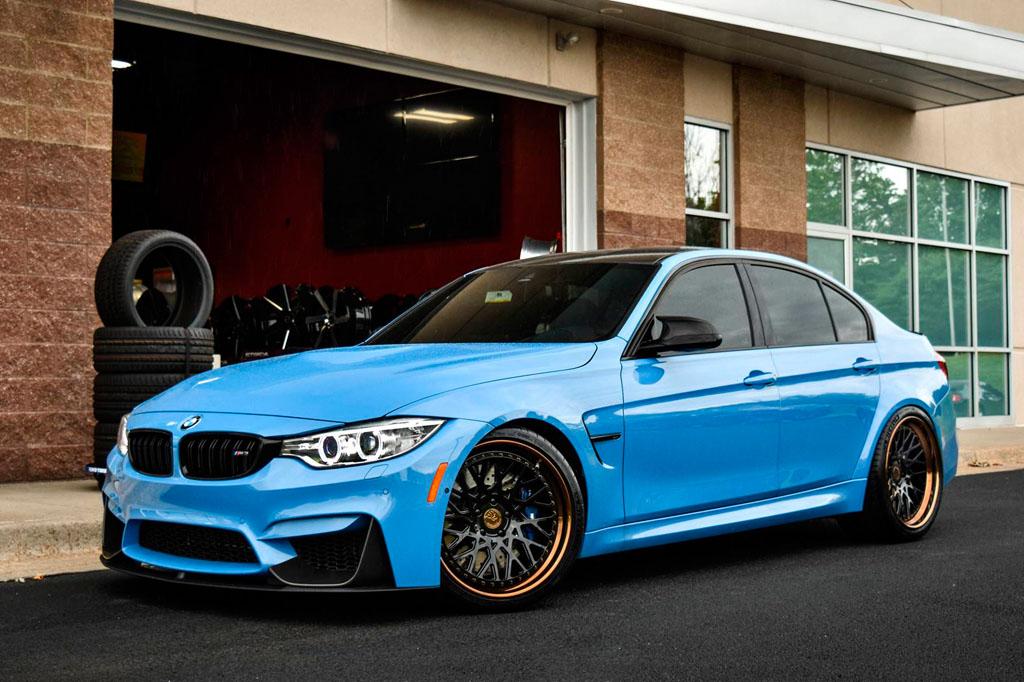 Avant Garde Wheels BMW F M AG F SPEC - Blue bmw m3