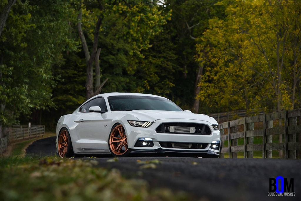 Avant Garde Wheels | Ford Mustang GT AG M632 Brushed Candy ...
