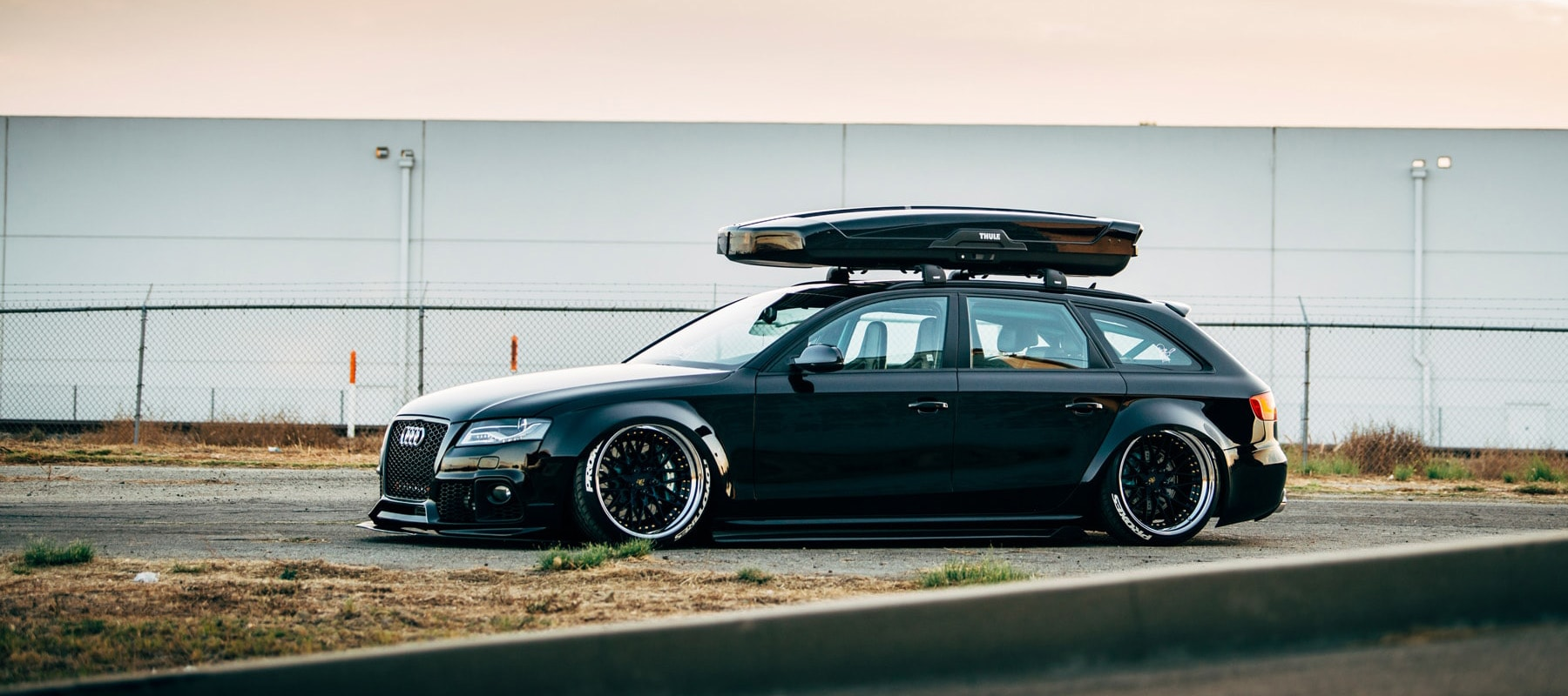 avant garde wheels audi a4 avant widebody on ag sr10. Black Bedroom Furniture Sets. Home Design Ideas