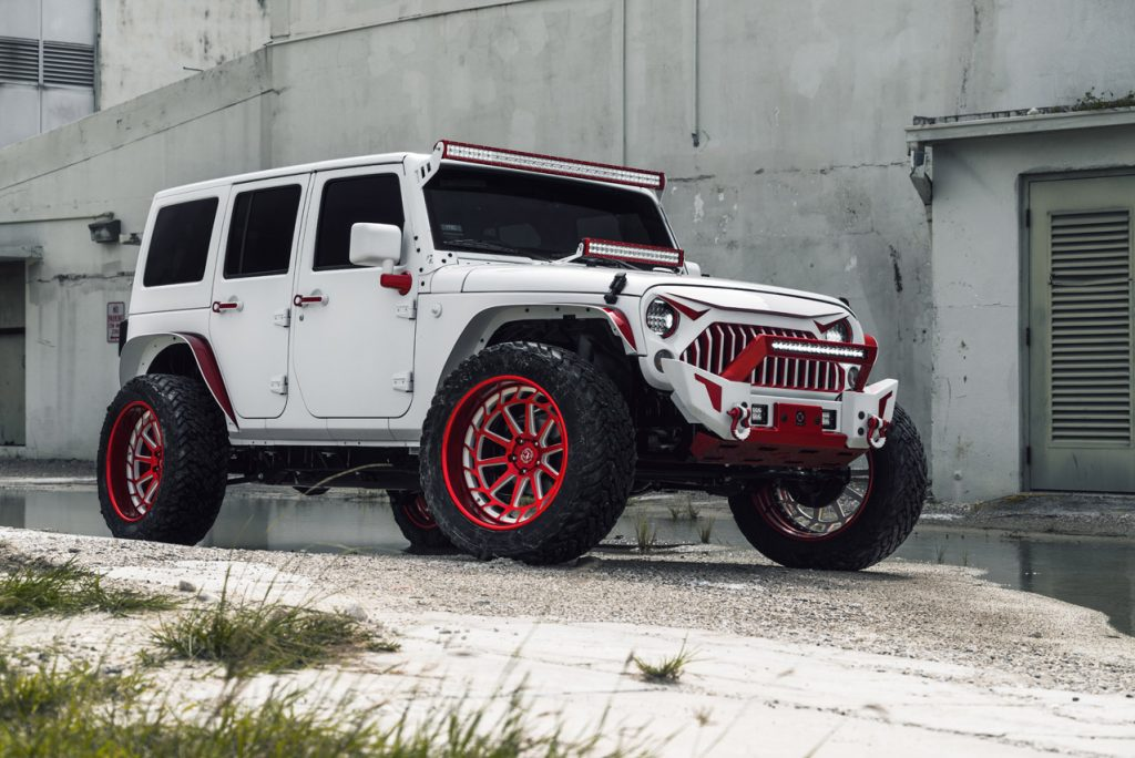 White Lifted Jeep >> Jeep – Avant Garde Wheels