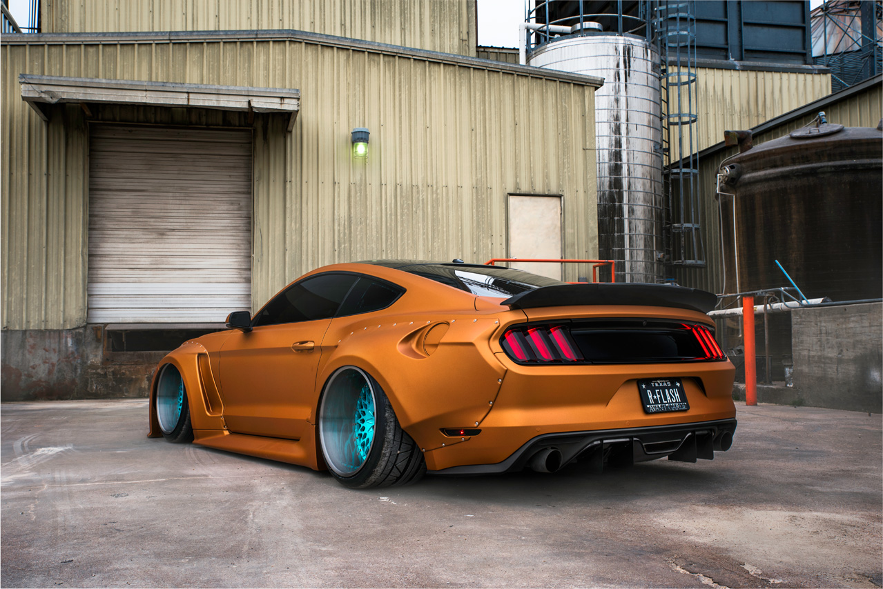 Agwheels ag wheels avantgardewheels avantgarde avant garde wheel rim rims tire tires stance widebody clinched fender a widebody ford mustang gt