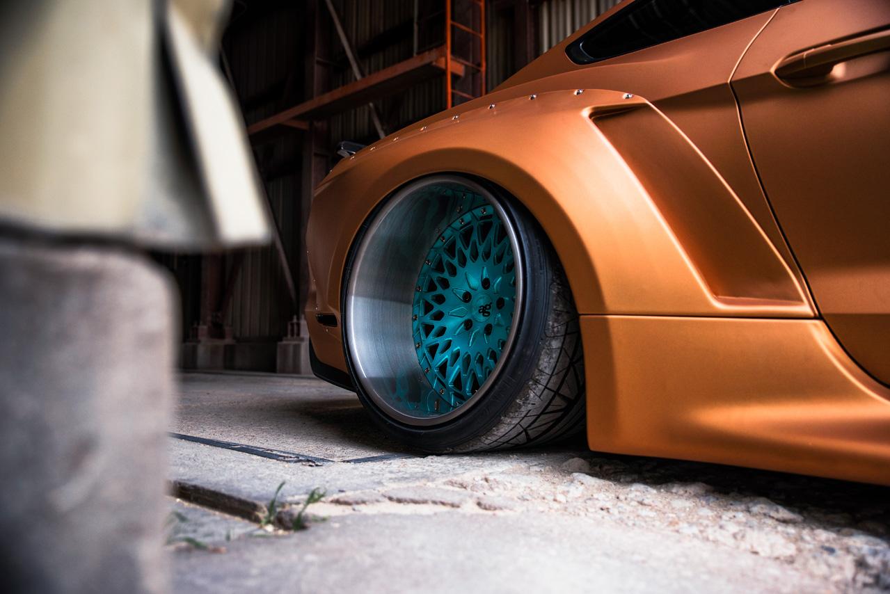 Avant Garde Wheels | Ford Mustang GT Widebody | AG F244