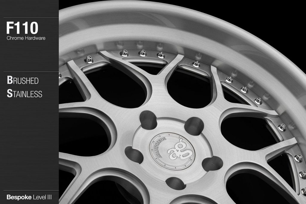 avant-garde-ag-wheels-f110-brushed-stainless-face-lip-chrome-hardware-2-min