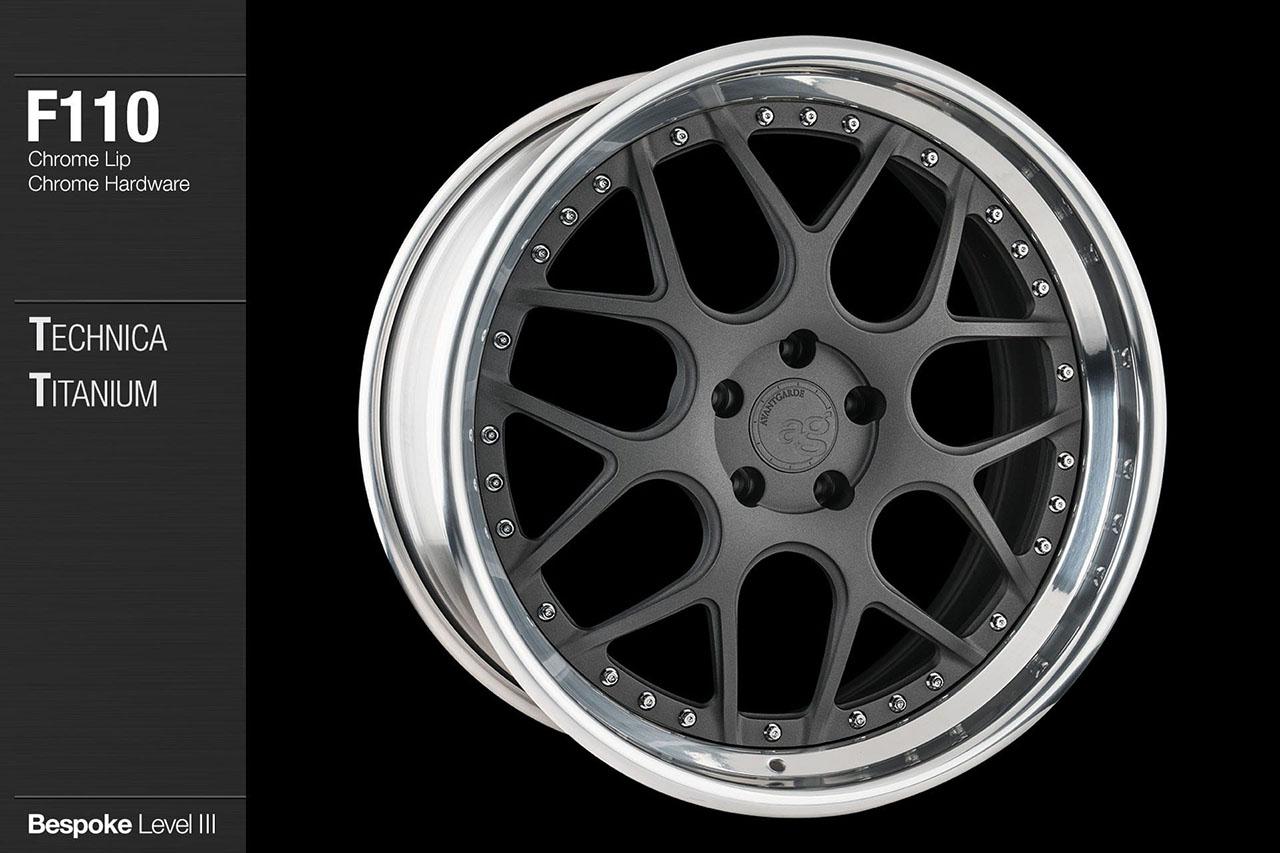 Subaru Warranty 2017 >> Avant Garde Wheels | F110 | AG Form / Function Series