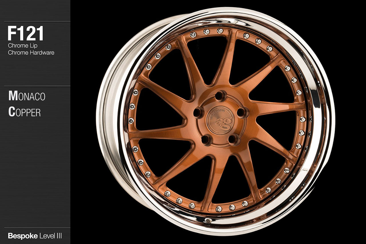 avant-garde-ag-wheels-f121-brushed-monaco-copper-face-chrome-lip-hardware-4-min