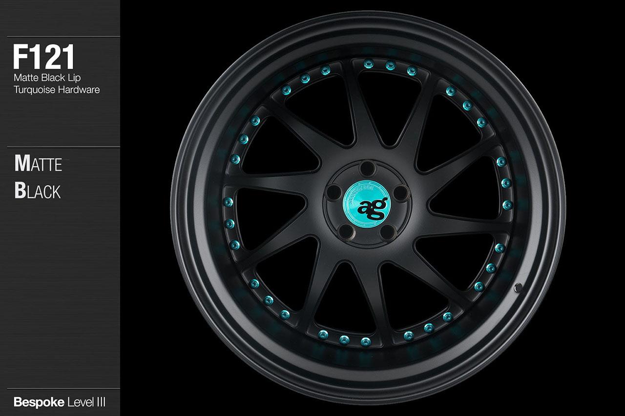avant-garde-ag-wheels-f121-matte-black-face-lip-turquoise-hardware-1-min
