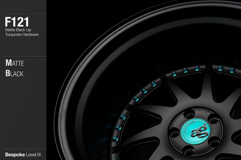 avant-garde-ag-wheels-f121-matte-black-face-lip-turquoise-hardware-2-min