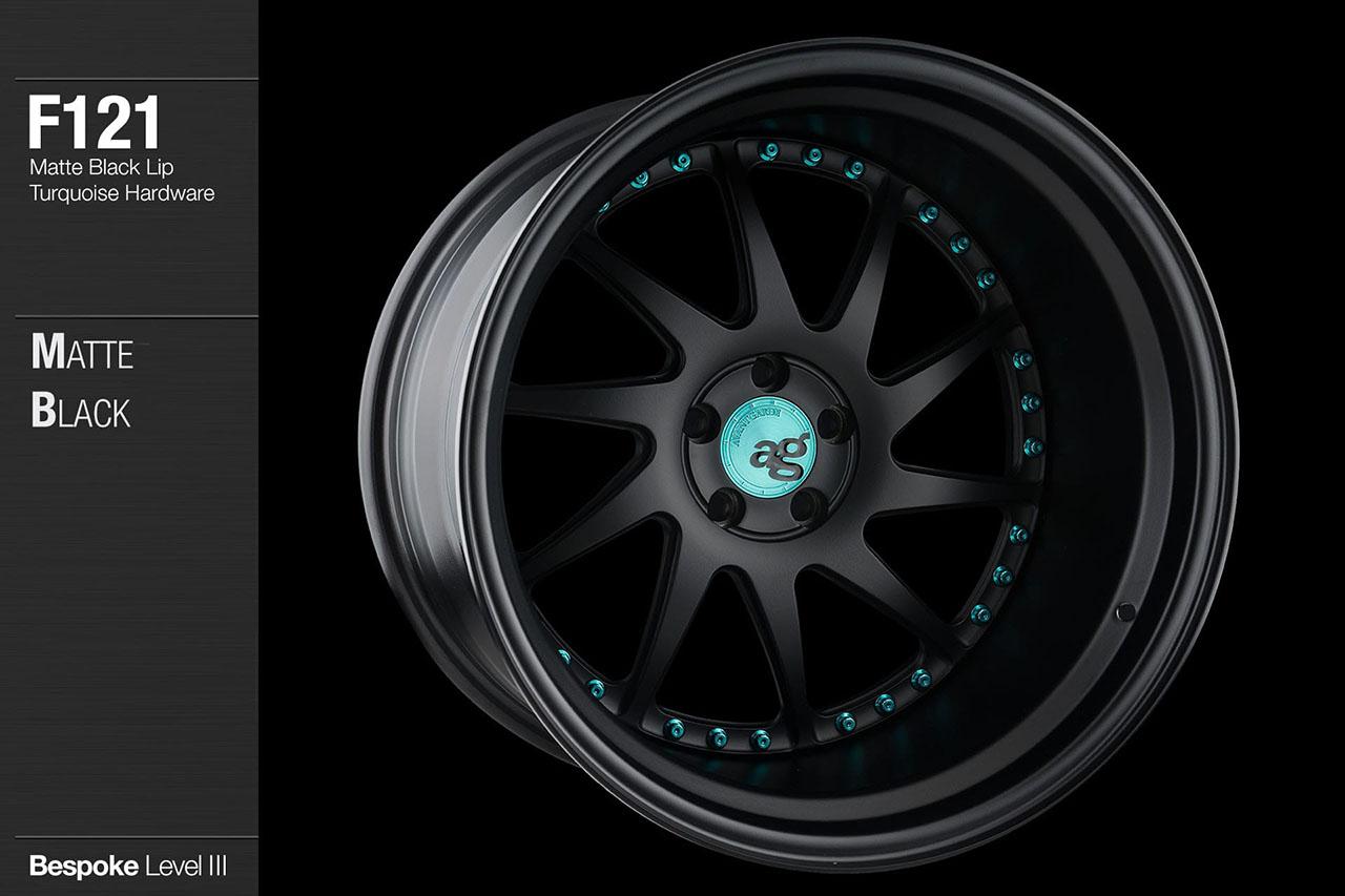 avant-garde-ag-wheels-f121-matte-black-face-lip-turquoise-hardware-4-min