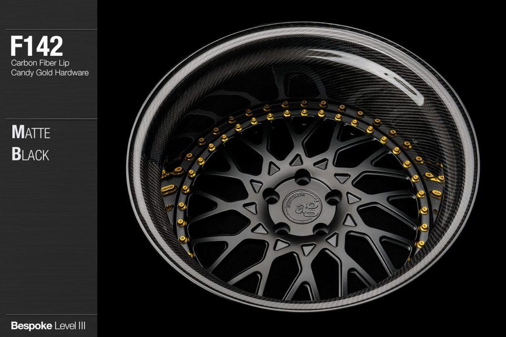 avant-garde-ag-wheels-f142-matte-black-face-carbon-fiber-lip-candy-gold-hardware-3-min