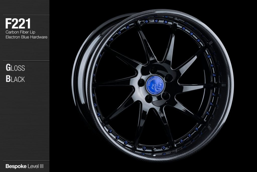 avant-garde-ag-wheels-f221-gloss-black-face-carbon-fiber-lip-electron-blue-hardware-4-min