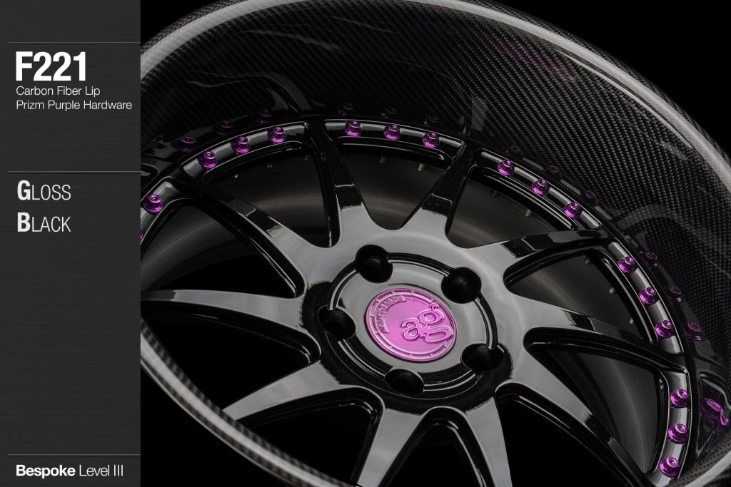 avant-garde-ag-wheels-f221-gloss-black-face-carbon-fiber-lip-prizm-purple-hardware-2-min