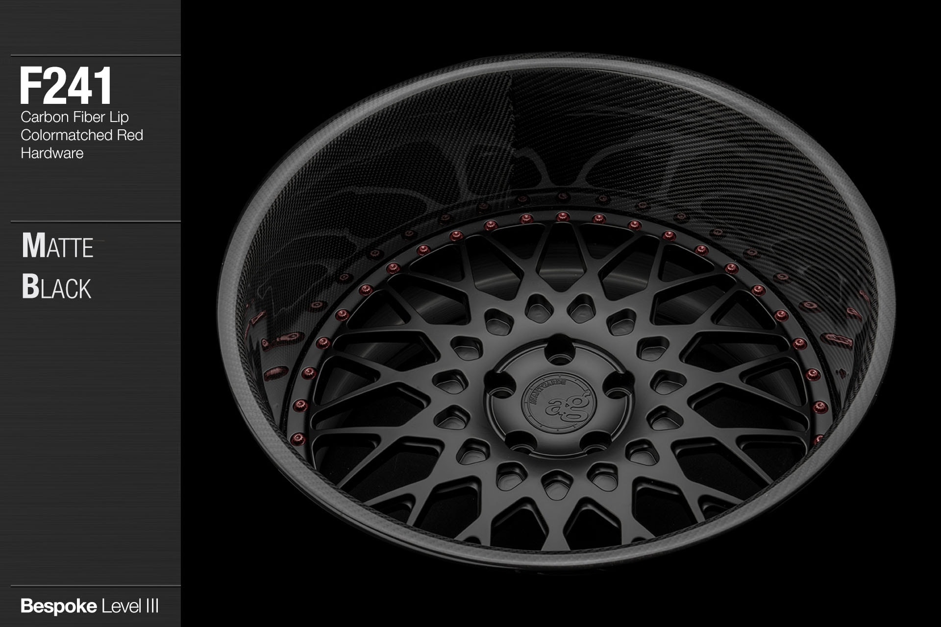 avant-garde-ag-wheels-f241-matte-black-face-carbon-fiber-lip-colormatched-red-lip-3-min