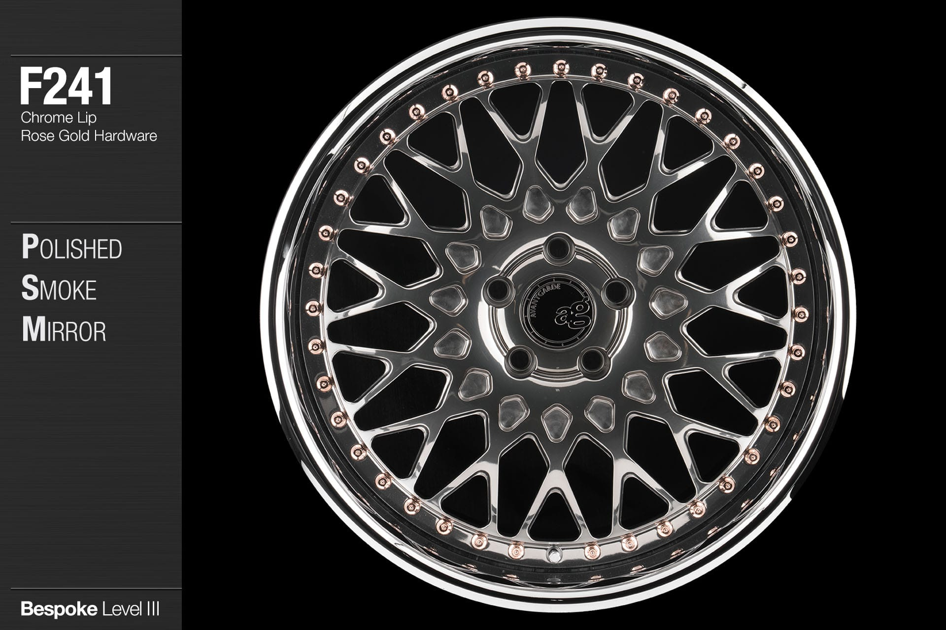 avant-garde-ag-wheels-f241-polished-smoke-mirror-face-chrome-lip-rose-gold-hardware-1-min