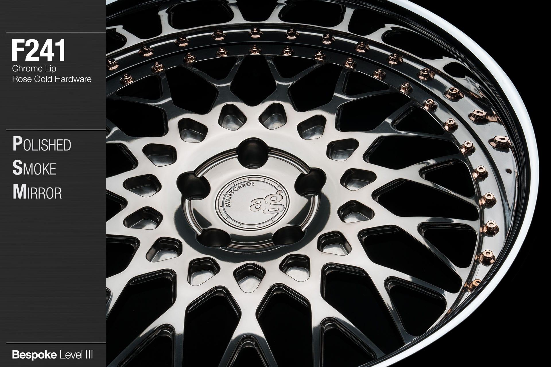 avant-garde-ag-wheels-f241-polished-smoke-mirror-face-chrome-lip-rose-gold-hardware-2-min