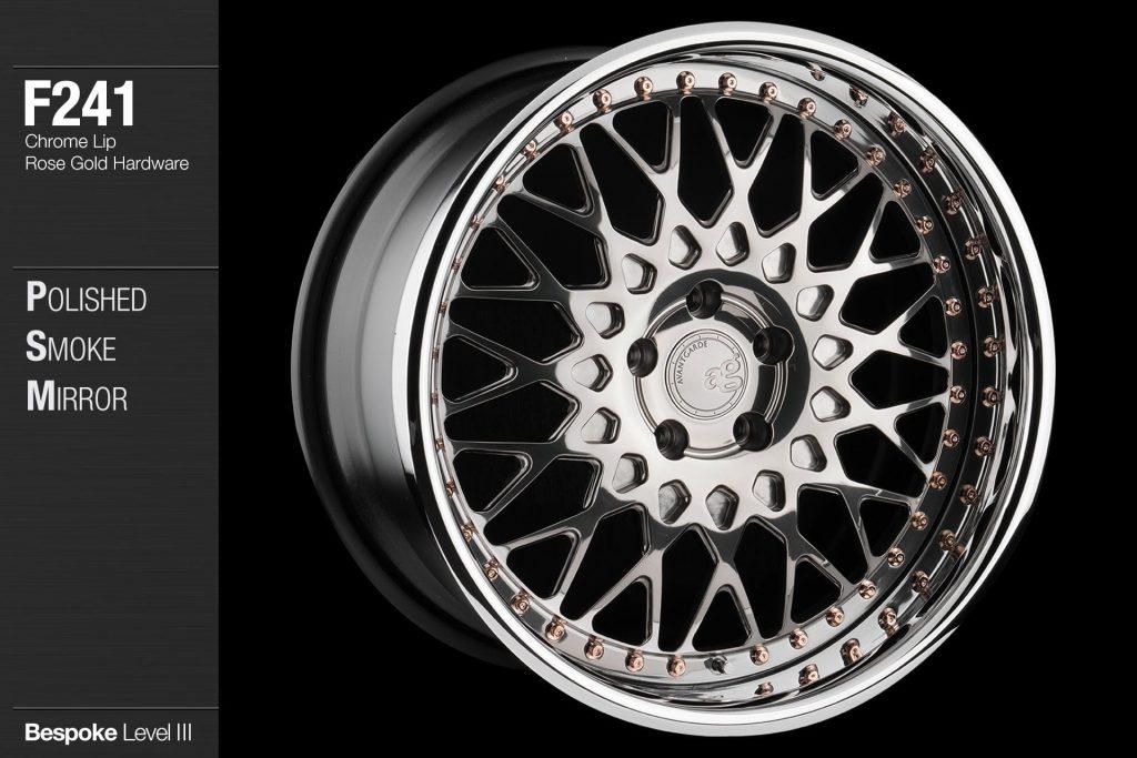 avant-garde-ag-wheels-f241-polished-smoke-mirror-face-chrome-lip-rose-gold-hardware-4-min