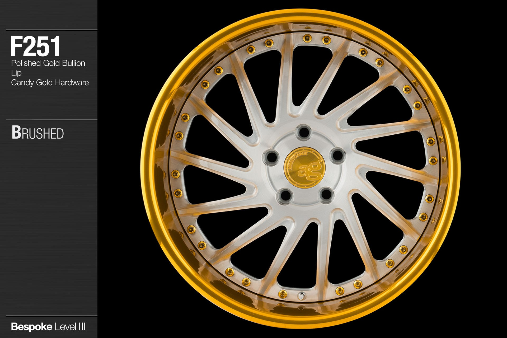 avant-garde-ag-wheels-f251-brushed-face-polished-gold-bullion-lip-candy-hardware-1-min